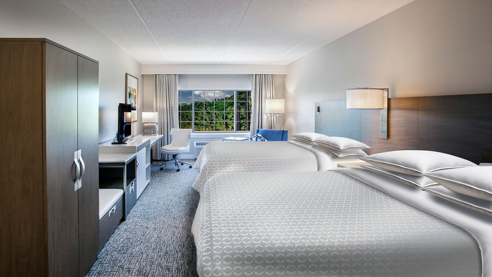 Sheraton Jacksonville Hotel | Queen Guest Room